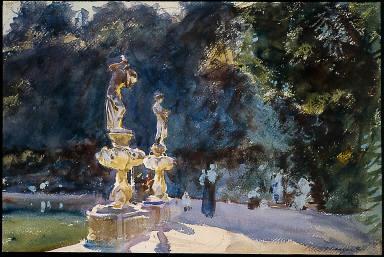 Florence: Fountain, Boboli Gardens
