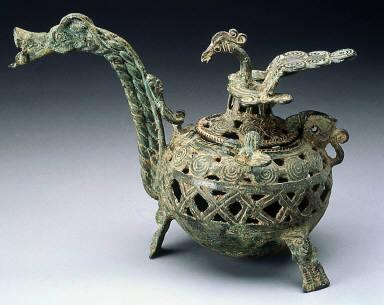 Tri-legged incense burner
