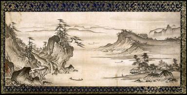 [Landscape, Sansuizu]