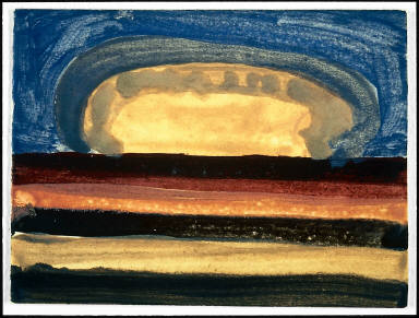 Untitled (effect of sunset landscape)