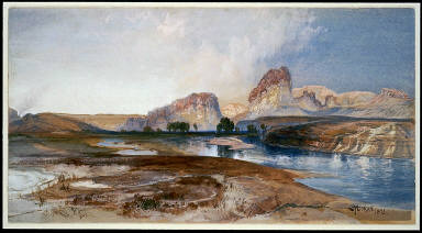 Cliffs, Green River, Wyoming