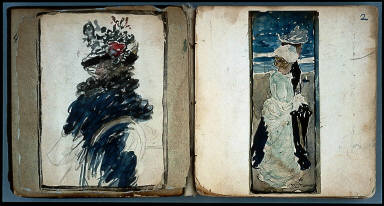 "Sketchbook (""The Boston Water-Color Sketchbook"")"