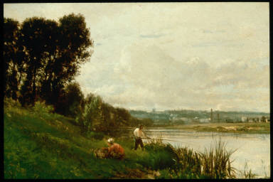 Fishing on the Banks of the Seine