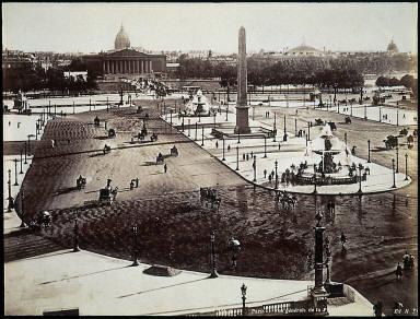 [Vue g??n??rale de la Place de la Concorde, General view of the Place de la Concorde]