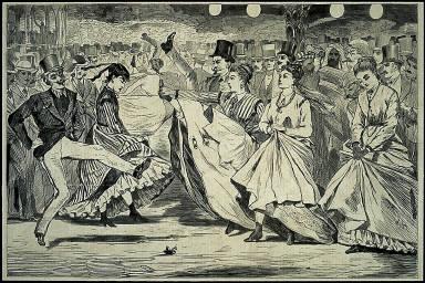 [A Parisian Ball; Dancing at Mabille, A Parisian Ball -- Dancing at the Mabille, Paris]