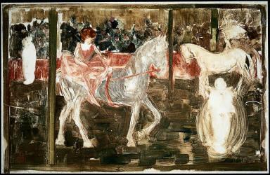 Le Cirque, otherwise known as Bareback Rider; Cirque