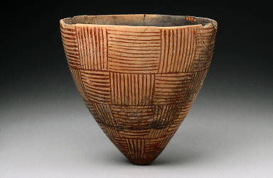Conical eggshell-ware bowl