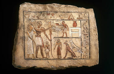 Stela of the Nubian soldier Nenu
