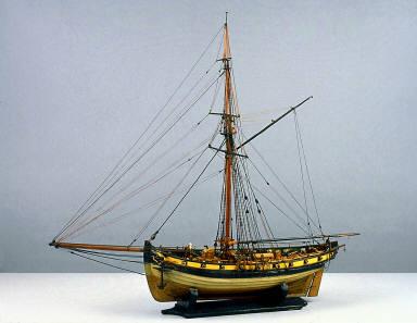 "Naval cutter ""Earl Howe"""