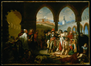 General Bonaparte Visiting the Plague-Stricken at Jaffa