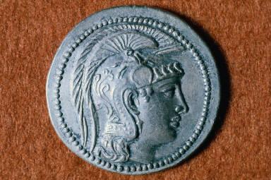 Tetradrachm with head of Athena