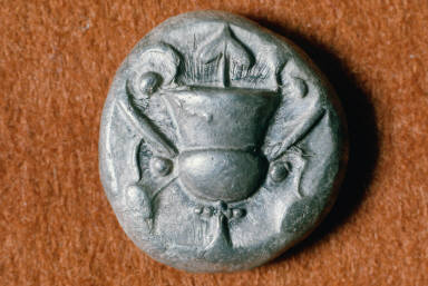 Stater with kantharos on the obverse