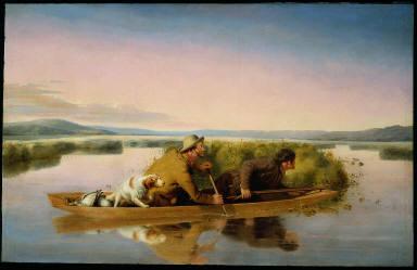 Duck Hunters on the Hoboken Marshes