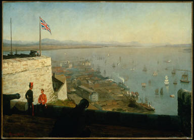 St. Lawrence River, from the Citadel, Quebec