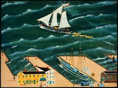 Fishermen Leaving for the Grand Banks
