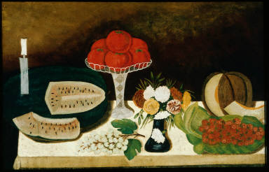Tomatoes, Fruit, and Flowers
