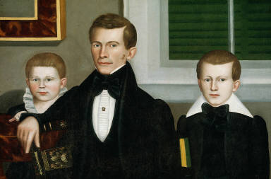 Joseph Moore and His Family