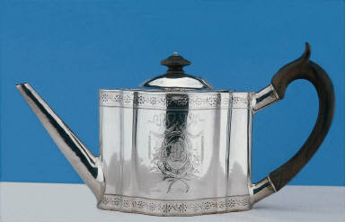 [Teapot, Teapot and stand]