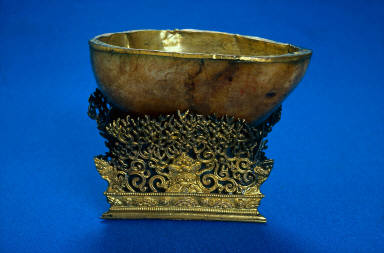 Ritual Skull Cup and Stand (thod-pa)