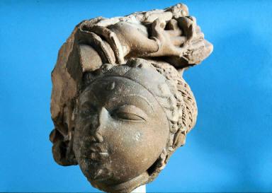 Head of an apsaras