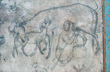 Bahram Gur And The Shepherd