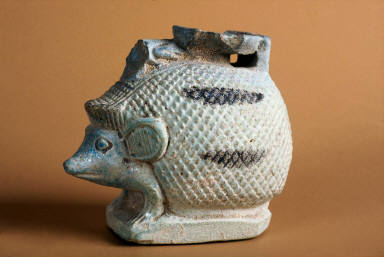 Vessel (aryballos) in the form of a hedgehog