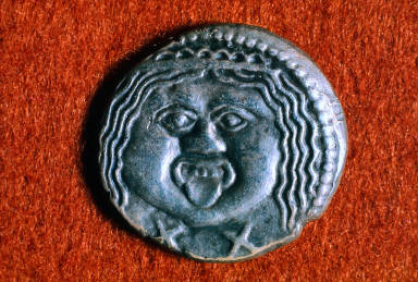 Didrachm with head of a Gorgon
