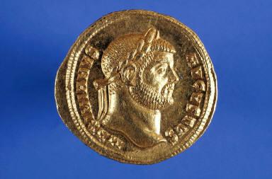 Aureus with bust of Maximianus