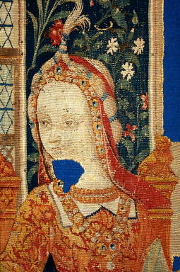 Penelope at Her Loom, a fragment from THE STORY OF PENELOPE AND THE STOR