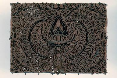 Tjap [block] (batik tool)