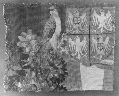 Armorial Shield B, fragment from THE STORY OF PENELOPE AND THE STORY OF