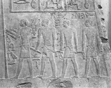 Relief of Nofer