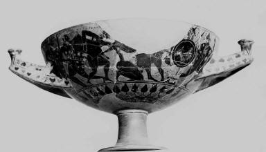 Merrythought kylix (wine cup)