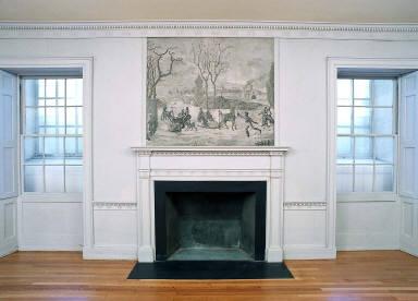 Dodd House interior woodwork