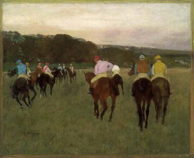 Race Horses at Longchamp