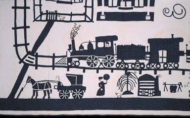 Pictorial quilt