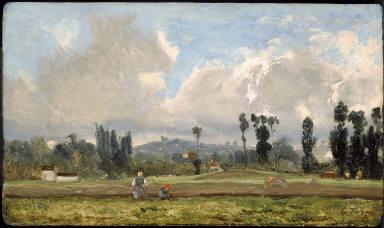 Field Outside Paris