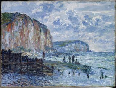 Cliffs of the Petites Dalles