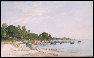Juan-les-pins, the Bay and the Shore