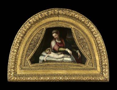 Virgin Adoring the Sleeping Christ Child