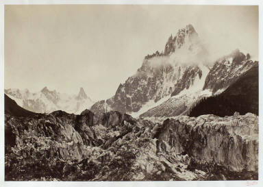 [Alpine View (Mer de Glâce), Alpine View (Sea of Ice)]