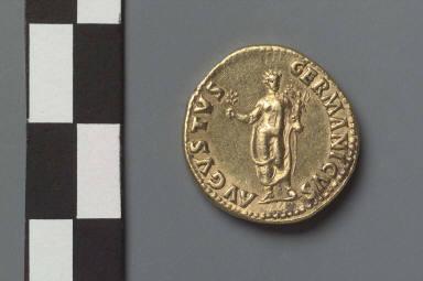 Aureus with head of Nero