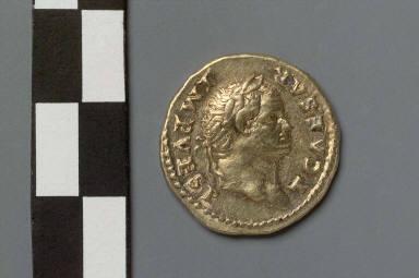 Aureus with head of Titus