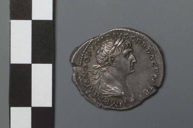 Denarius with bust of Trajan