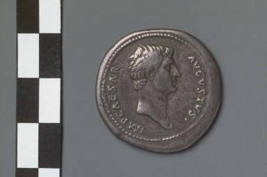 Cistophorus with head of Augustus, struck under Hadrian
