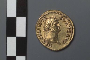 Aureus with head of Domitian