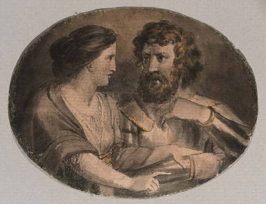 Macbeth and Lady Macbeth (Illustrations to Shakespeare)