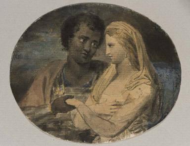 Othello and Desdemona (Illustrations to Shakespeare)