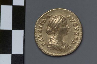 Aureus with bust of Faustina II