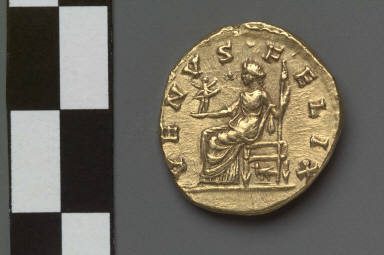 Aureus with bust of Crispina